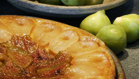 Pear and Fig Tart