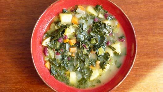 Minestrone ~ Tuscan Vegetable SoupOrganic Tuscany Cookbook
