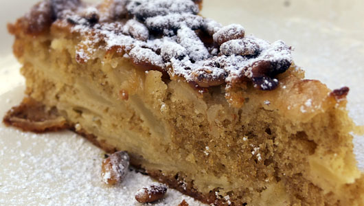 Italian Apple Cake Recipe No Sugar