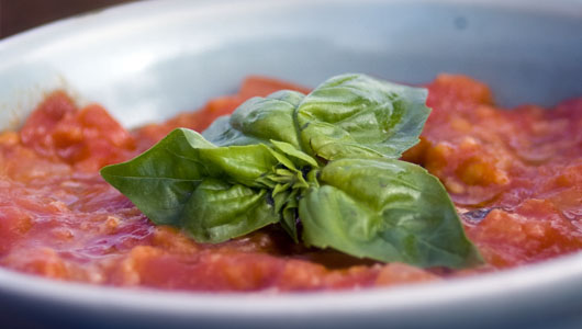 Pappa al Pomodoro ~ Tuscan Tomato, Bread and Herb Soup