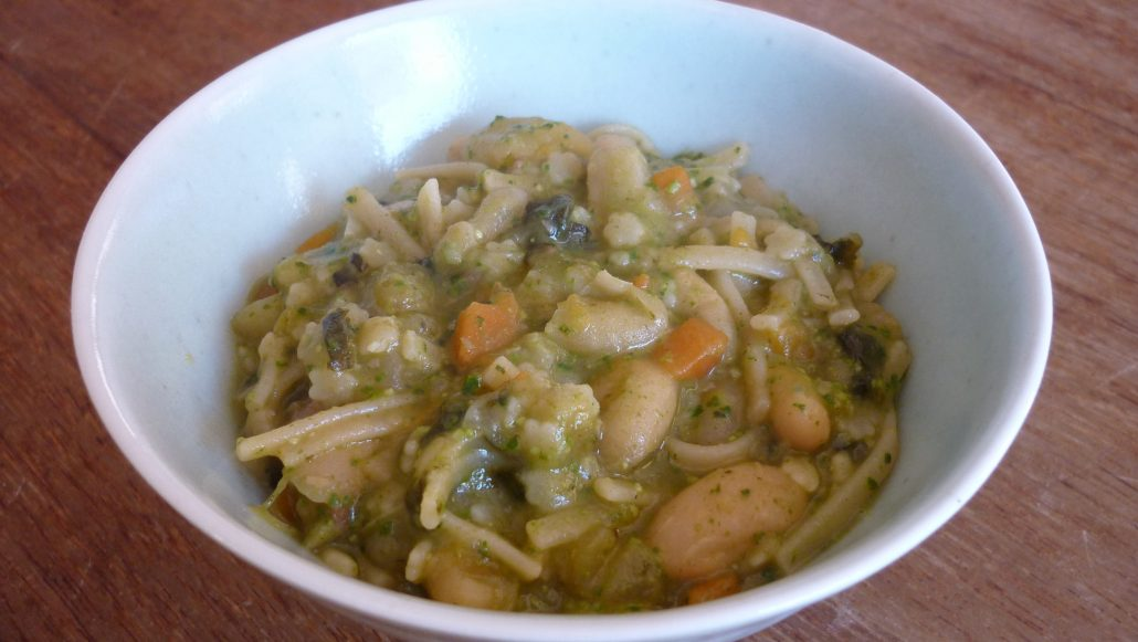 Minestrone ~ Hearty vegetable soup