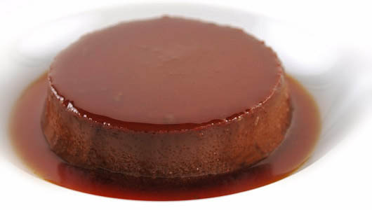 Bonet ~ Caramel, coffee and amaretto dessert