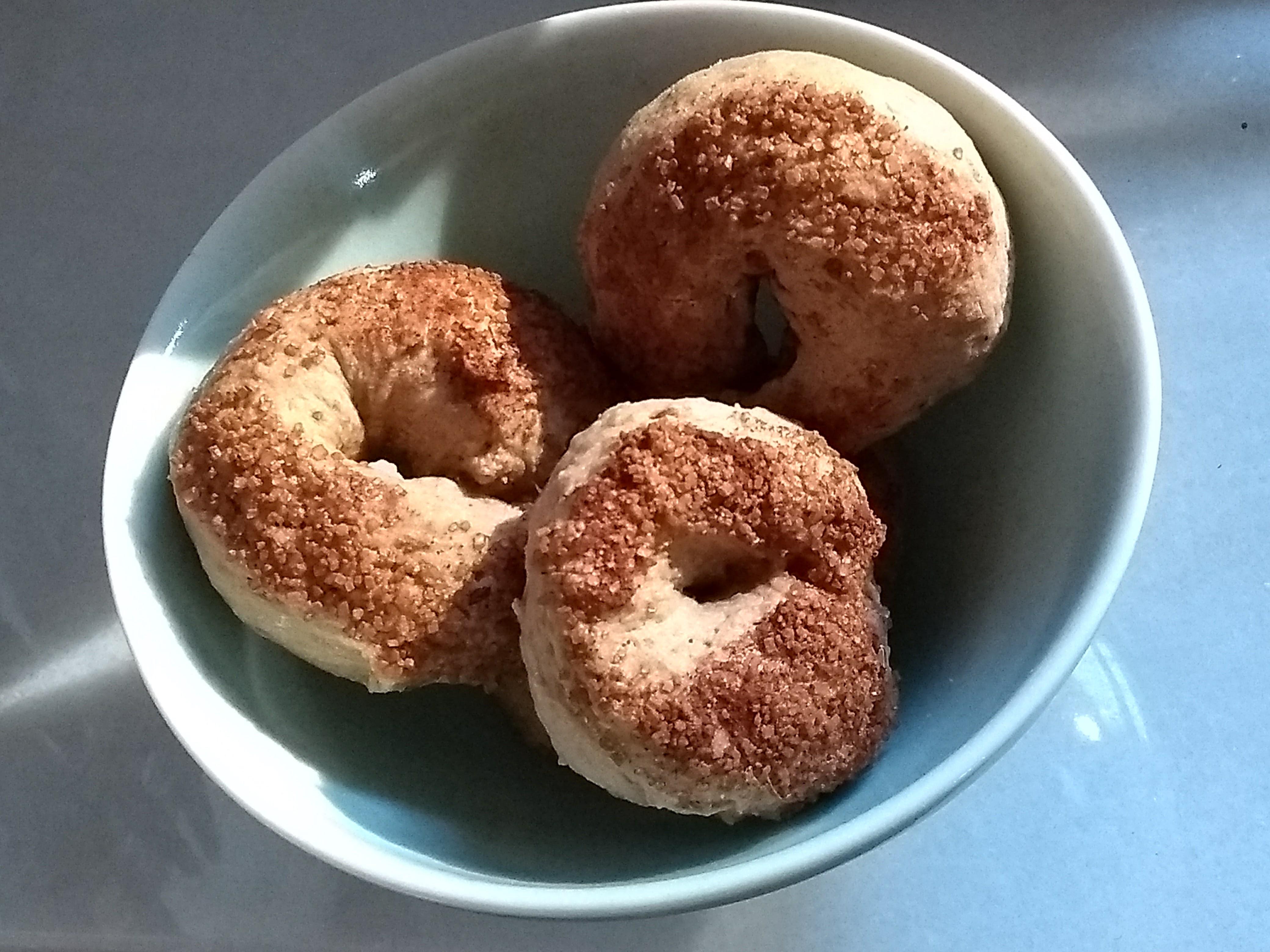 Ciambelline al vino (Ring-shaped cookies from Lazio)