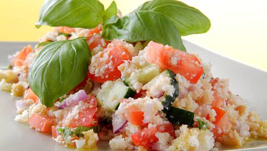 Panzanella ~ Tuscan bread and tomato salad