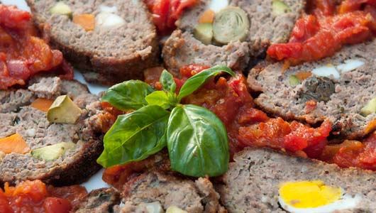 Polpettone ~ Tuscan Meatloaf