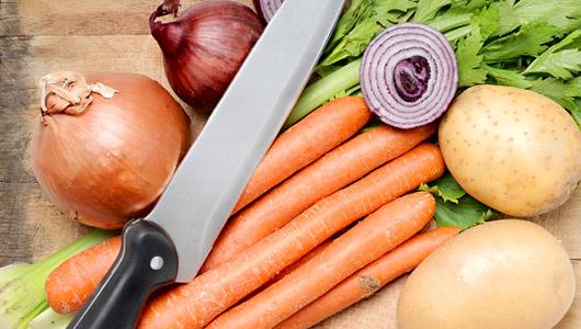 Simple vegetable stock