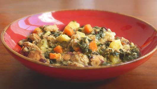 Tuscan vegetable and bread soup